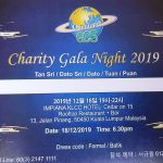 Charity Gala Night 2019 of the GCS Malaysia Chapter