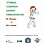 1st Sri Lanka National Virtual Poomsae Taekwondo Championship Wraps Up in Great Success
