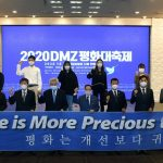 2020 DMZ Peace Festival Held both on- and off-line Successfully on Oct. 7, 2020 in Korea